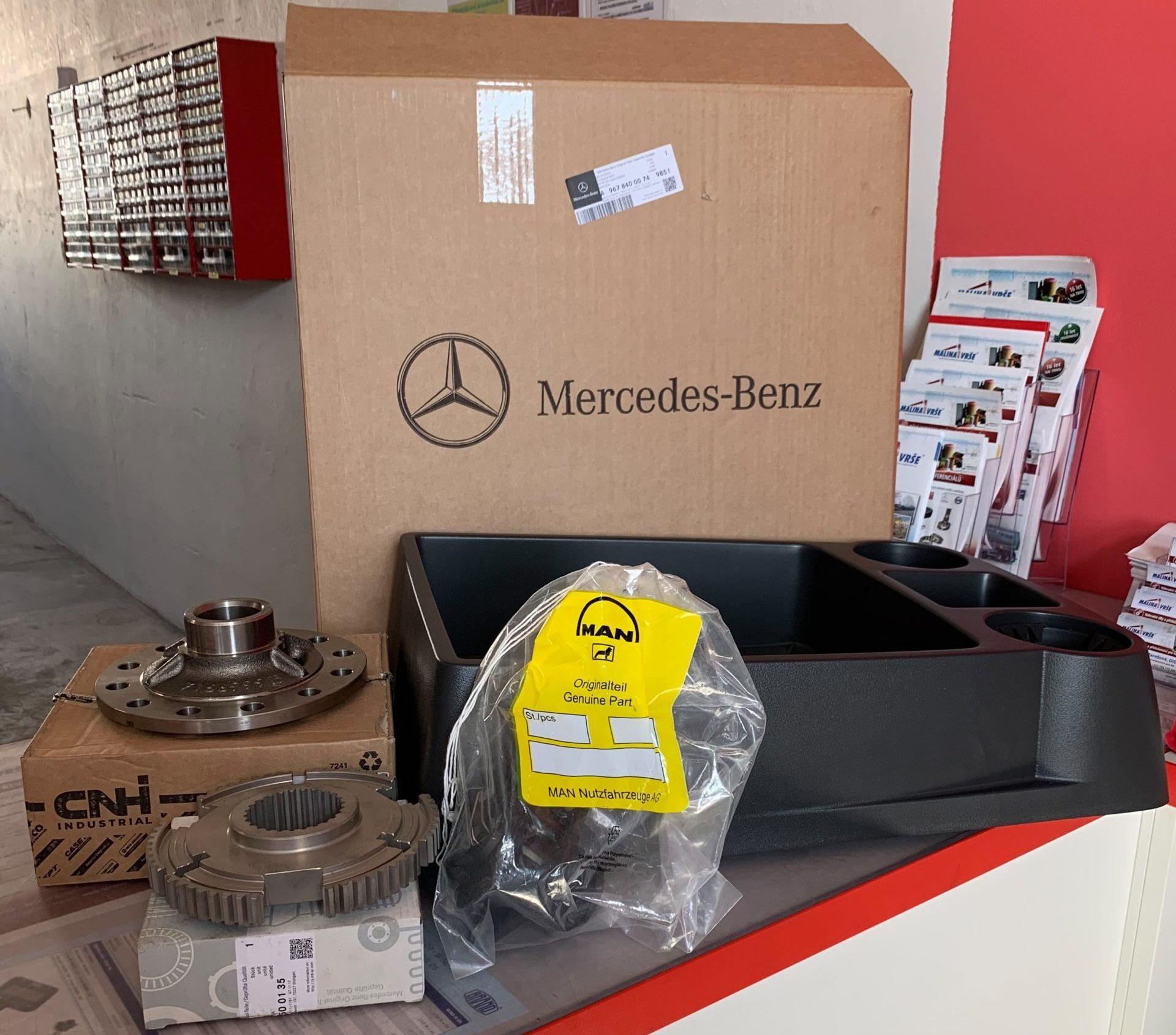 Mercedes Benz komponenty